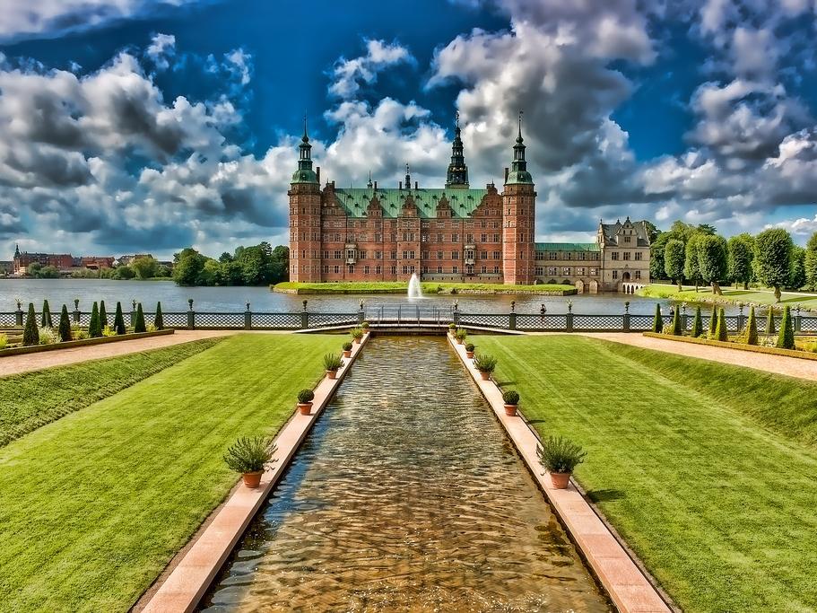 Frederiksborg slot hillerod danimarca castelli castello di Frederiksborg cosa vedere in danimarca cosa vedere a copenaghen